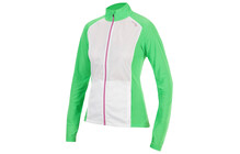 saucony Women's Transcendence Jacket green arrow/white